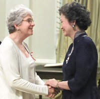 Catherine Hennessey gets the Order of Canada